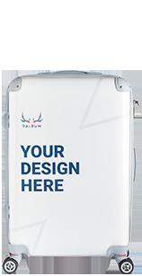 M size suitcase
